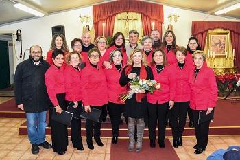 "Santa Venerina / Applaudito concerto del coro parrocchiale ""Santa Venera"" (nonostante il terremoto)"