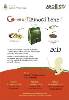 Ecologia / A Santa Venerina tre incontri formativi sul compostaggio domestico