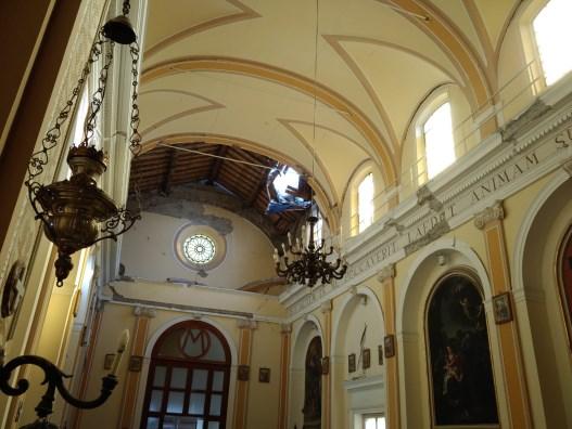 Sisma di Santo Stefano – 9 / Sopralluogo nelle frazioni acesi: previsti interventi importanti nelle chiese inagibili di Pennisi e Piano d'Api