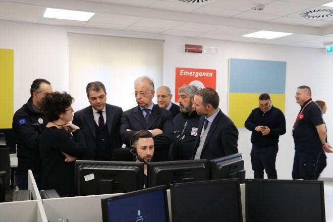 Ospedale Cannizzaro / Numero unico emergenza 1-1-2 Sicilia Orientale: in un anno oltre 1,8 mln di chiamate e il tempo d'attesa più basso di tutta Italia
