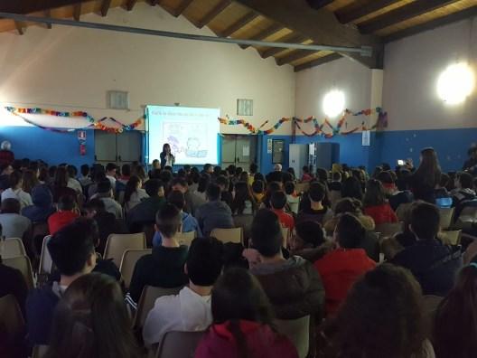"""Aci Bonaccorsi / Seminario su le malattie da Internet per gli studenti dell'Istituto """"Allegra"""""""