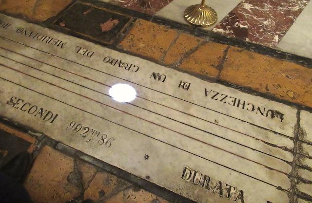 Adam fecit – 5 / Il 20 marzo l'equinozio di primavera sulla meridiana della Cattedrale di Acireale
