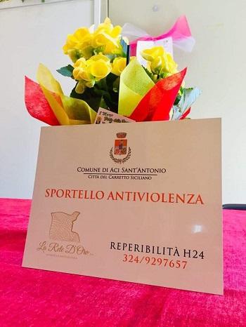 """Aci Sant'Antonio / Aperto dal Comune lo """"Sportello antiviolenza"""": ascolto e mano tesa"""