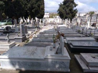 Aci Sant'Antonio Iniziativa comune fiori cimitero