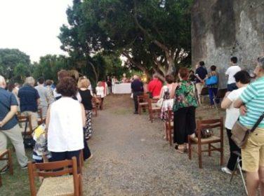 santa venera al pozzo celebrazione messa