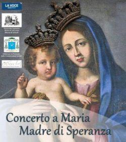 Acireale Concerto Maria Madre speranza