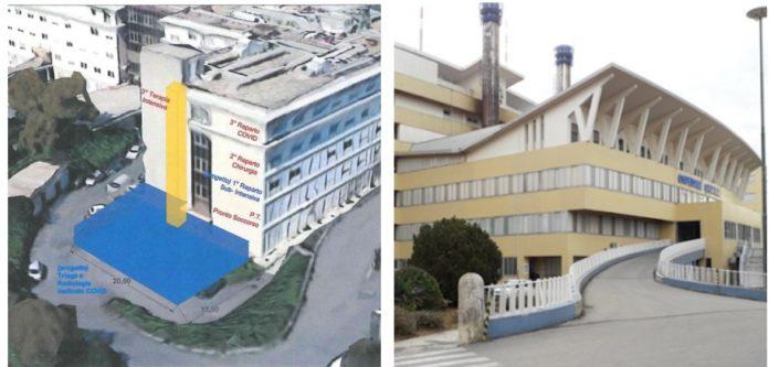 Emergenza covid lavori ospedali acireale caltagirone