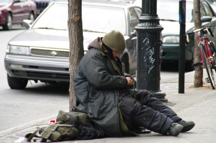 Raccolta coperte senzatetto