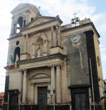 Lavori di recupero del campanile della Chiesa Madre