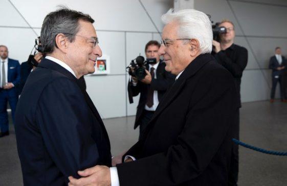 Incarico Mario Draghi crisi governo Mattarella