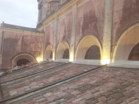 8x1000 tetto navata lavori San Sebastiano Acireale