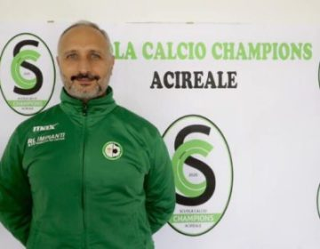Calcio Acireale Mister Sebastiano Neri
