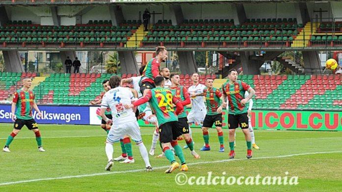Catania passivo pesante a Terni