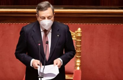 discorso Draghi fiducia giovani futuro