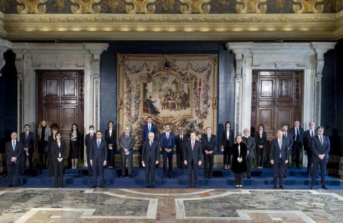 Discorso Draghi ministri giovani futuro