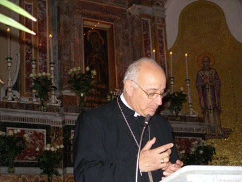 mons Pio Vigo vescovo da 40 anni