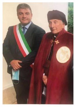 Linguaglossa conferenza comuni egidiani sindaco Puglisi e professor Castorina