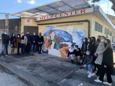 murales all'Help center-gruppo