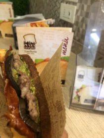 Plaza toast Acireale street food