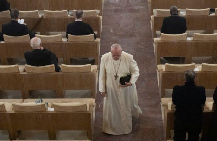 esercizi spirituali papa
