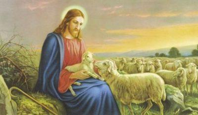Gesù e le pecore