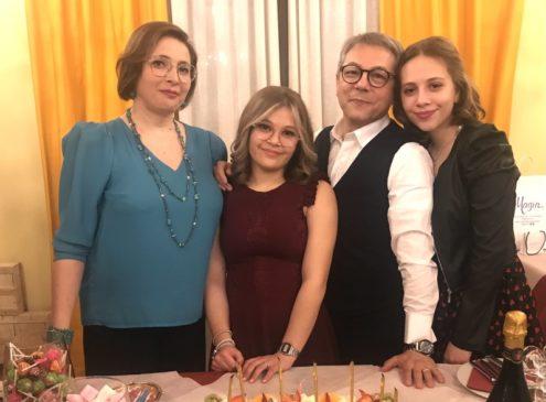 Paolo Scandura e famiglia