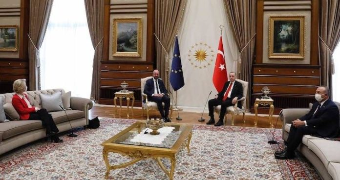 gaffe Erdogan