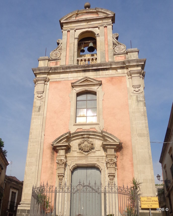 Acireale chiesa San Francesco di Paola