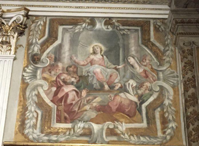 Affreschi Filocamo Cattedrale Acireale