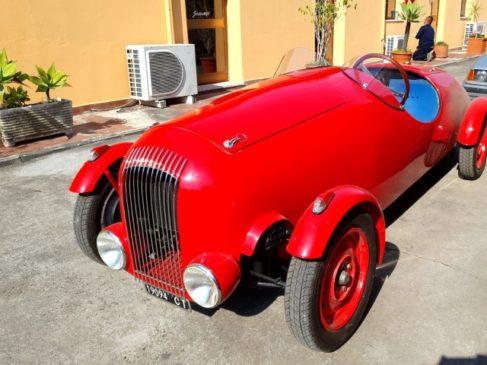 Fiat 1100 ricostruita dai fratelli scionti