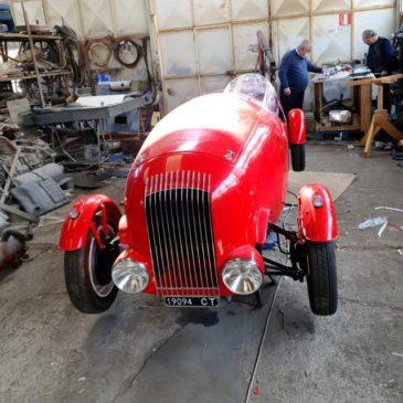 riproduzione Fiat 1100 di Scionti del '47