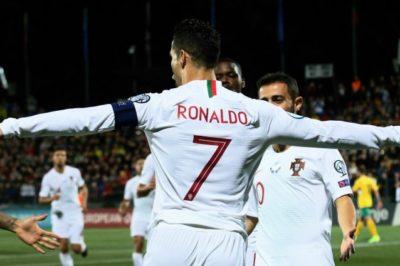 Europei 2020 Girone F Ronaldo