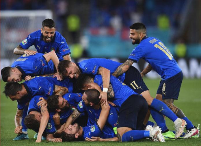 Europei 2020 Italia Belgio