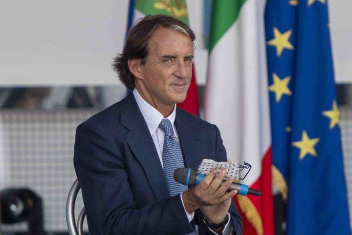 Mancini Europei 2020 Italia Galles