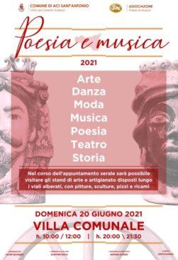 poesia e musica locandina