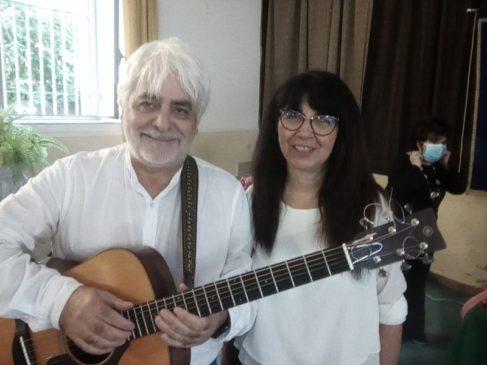 Gesuele Sciacca e la moglie Daniela
