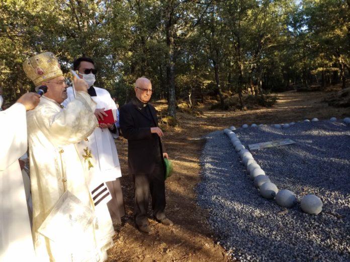 Benedizione del Rosario nel parco Sciarone