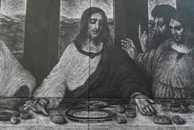 L'ultima cena di La Rosa-particolare