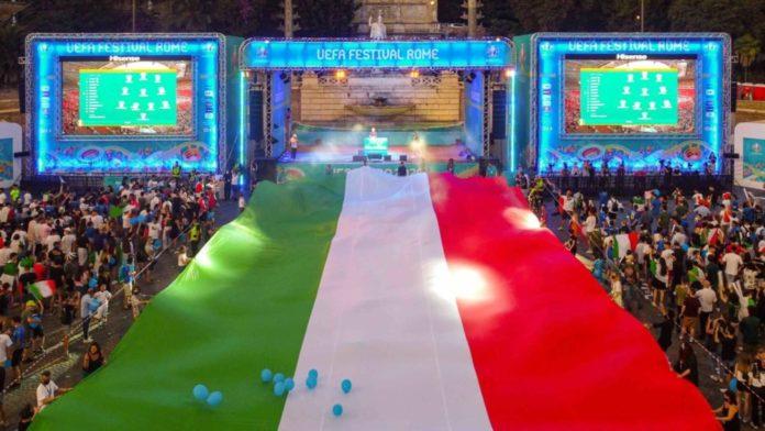 Italia Europei 2020 semifinale