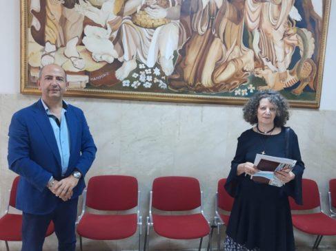 sindaco Caruso e pittrice Mammino