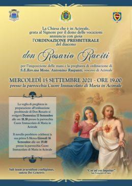 ordinazione rosario raciti-locandina