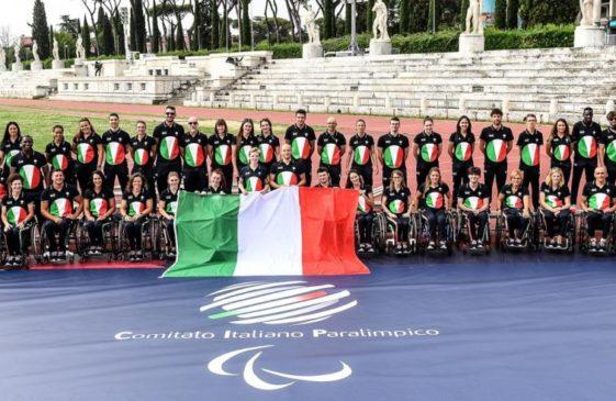 delegazione italiana alle Paralimpiadi di Tokio