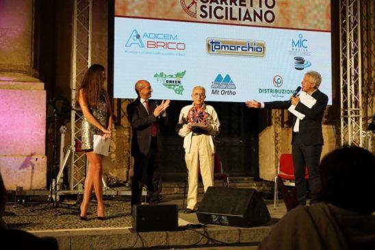 Tuccio Musumeci premiato