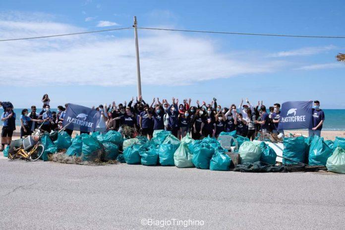 plastic free pianeta raccolta