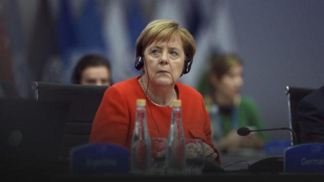 Angela Merkel cancelliera UE