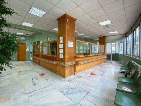 lavori ingresso ospedale Caltagirone