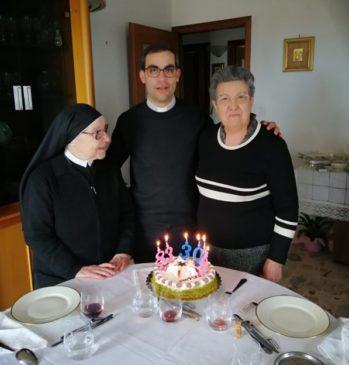 suor Francesca, don Roberto Maio e Teresa Scaravilli